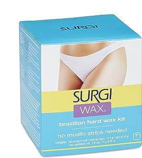 Surgi-wax 巴西式私处脱毛蜡套装 4盎司(3件装)