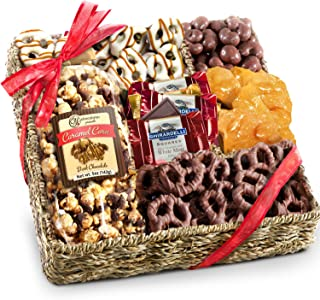 Chocolate, Nuts and Crunch Gift Basket