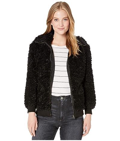 BB Dakota Teddy Or Not Fleece Jacket (Black) Women