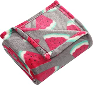 Morgan Home Fashions Luxury Bright Throw Blanket 2 Sizes- Soft, Lightweight, Cozy and Warm for Use All Year Round and Any Season 50x60