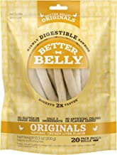 Better Belly Rawhides for Dogs, Digestible Rawhide Dog Chews, No Artificial Colors or Flavors