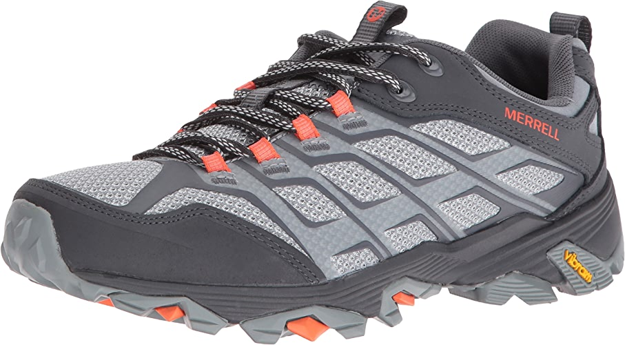 Merrell Men's Moab Fst Hiking chaussures, gris Orange, 10 M US