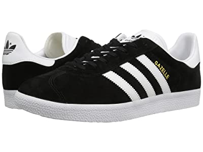 adidas Originals Gazelle Foundation (Core Black/White/Gold Metallic) Men