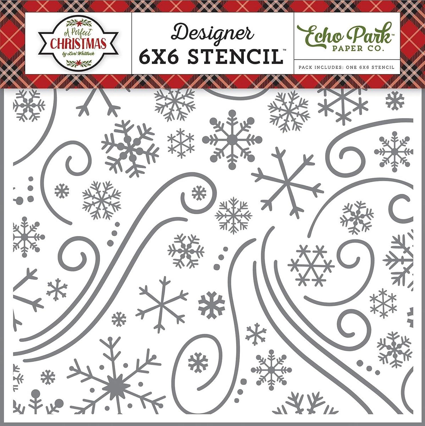 Echo Park Paper Company Christmas Wonderland Stencil
