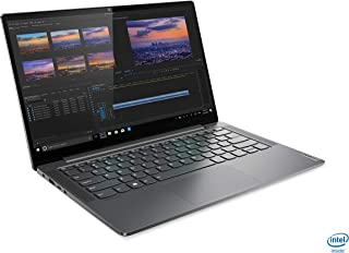 Lenovo Yoga S740 Slim Laptop, Intel Core i7-1065G7, 14inch FHD, 1TB SSD, 16GB RAM, NVIDIA GeForce MX250 2GB Dedicated Graphics, Win10, Backlit Eng-Arb KB, Iron Grey - [81RS008CAX]