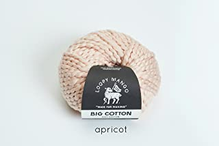 Best Loopy Mango Big Cotton Yarn (Apricot) Review
