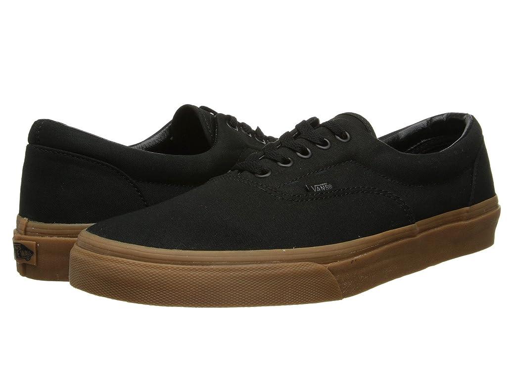 日焼け維持する概して(バンズ) VANS メンズスニーカー?靴 Era Core Classics Black/Classic Gum Men's 9.5, Women's 11 (27.5cm(レディース28cm)) Medium