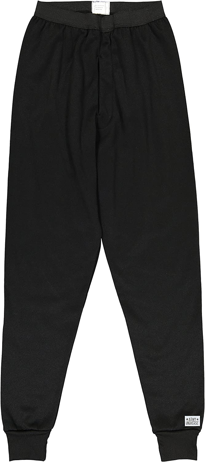 Army Universe Black ECWCS Thermal Military Underwear Pants with