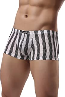 Winday Mens Brief Lace Bikini Underwear Low Rise Seamless Breathable Briefs F02