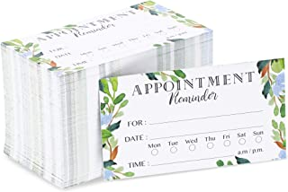 Paper Junkie Appointment Reminder Cards (200 Count), Foliage Design, 3.5 x 2 Inches