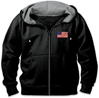 Bradford Exchange Men's Hoodie: Home of The Brave by The