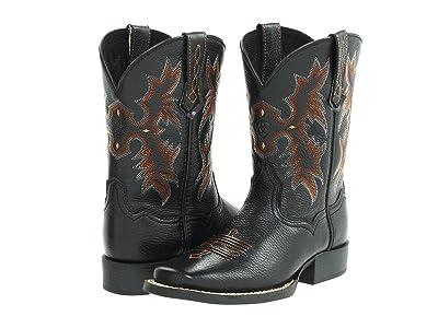 Ariat Kids Tombstone (Toddler/Little Kid/Big Kid) (Black Deertan) Cowboy Boots