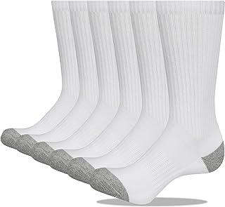 Closemate, Calcetines de algodón para hombre, acolchados, transpirables, atléticos, para deporte, entrenamiento, trabajo, tallas del Reino Unido