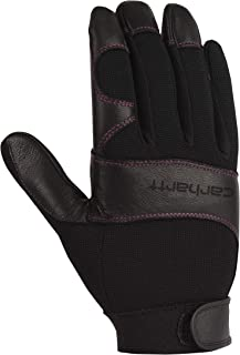 Carhartt Women's Dex II High Dexterity Work Glove with System 5 Palm and Knuckle Protection