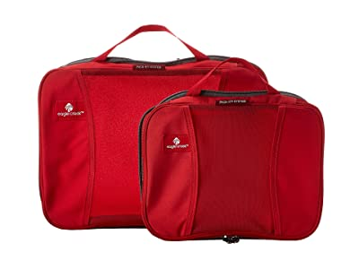 Eagle Creek Pack-Ittm Compression Cube Set (Red Fire) Bags