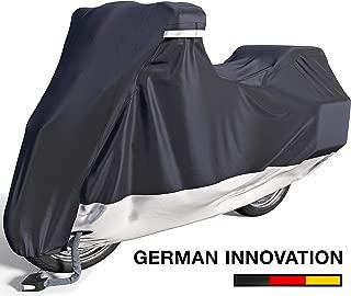 Velmia Motorcycle Cover Waterproof Outdoor & Indoor [X-Large] Heavy Duty Premium Bike..