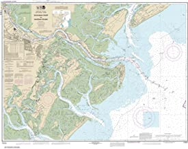 Paradise Cay Publications NOAA Chart 11512: Savannah River and Wassaw Sound 35.4 x 45.2 (TRADITIONAL PAPER)