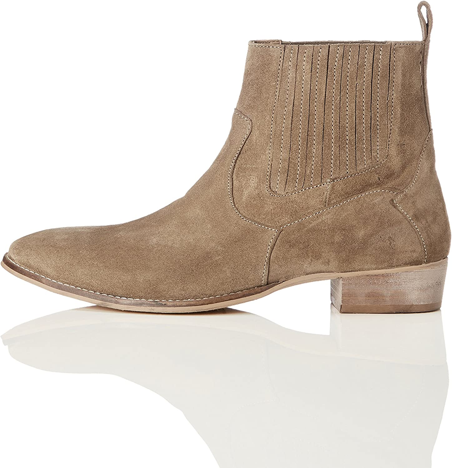 FIND Men's Leather Chelsea Boots