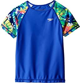 Printed Short Sleeve Rashguard (Little Kids/Big Kids)