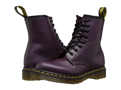 Dr. Martens 1460 W (Purple Smooth Leather) Women