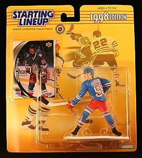 NHL Starting Lineups 1998 Wayne Gretzky New York Rangers
