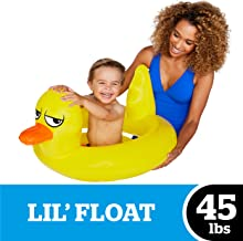 BigMouth Inc Lil' Water Float - Pool Float for Ages 3+, Perfect for Beginner Swimmers, Easy to Inflate and Durable (Lucky Duck)