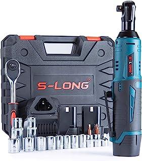 S-LONG Cordless Ratchet Wrench Set, 3/8