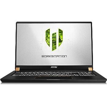 "MSI WS75 9TL-496 17.3"" FHD Thin and Light Mobile Workstation Intel Core i9-9880H Quadro RTX 4000 32GB 1T Nvme SSD Win10 Pro TPM2.0 TB3 Fingerprint"