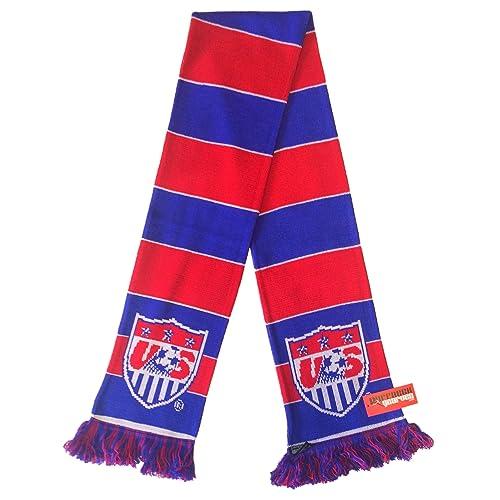 RUFFNECK US Soccer Jacquard Knit Scarf