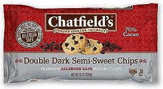 Chatfield's Allergen Friendly Double Dark Semi-Sweet Chocolate Chips 10 oz