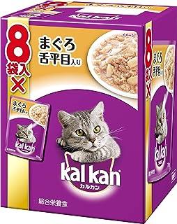 カルカン パウチ 成猫用 1歳から まぐろ 舌平目入り 70g×8袋入り [キャットフード]