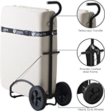 EARTHLITE Massage Table Traveler Cart – Sturdy Massage Table Platform with Large..