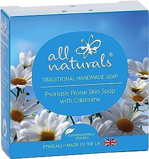 All Naturals Jabón Orgánico para Psoriasis con Calamina Manzanilla 100g