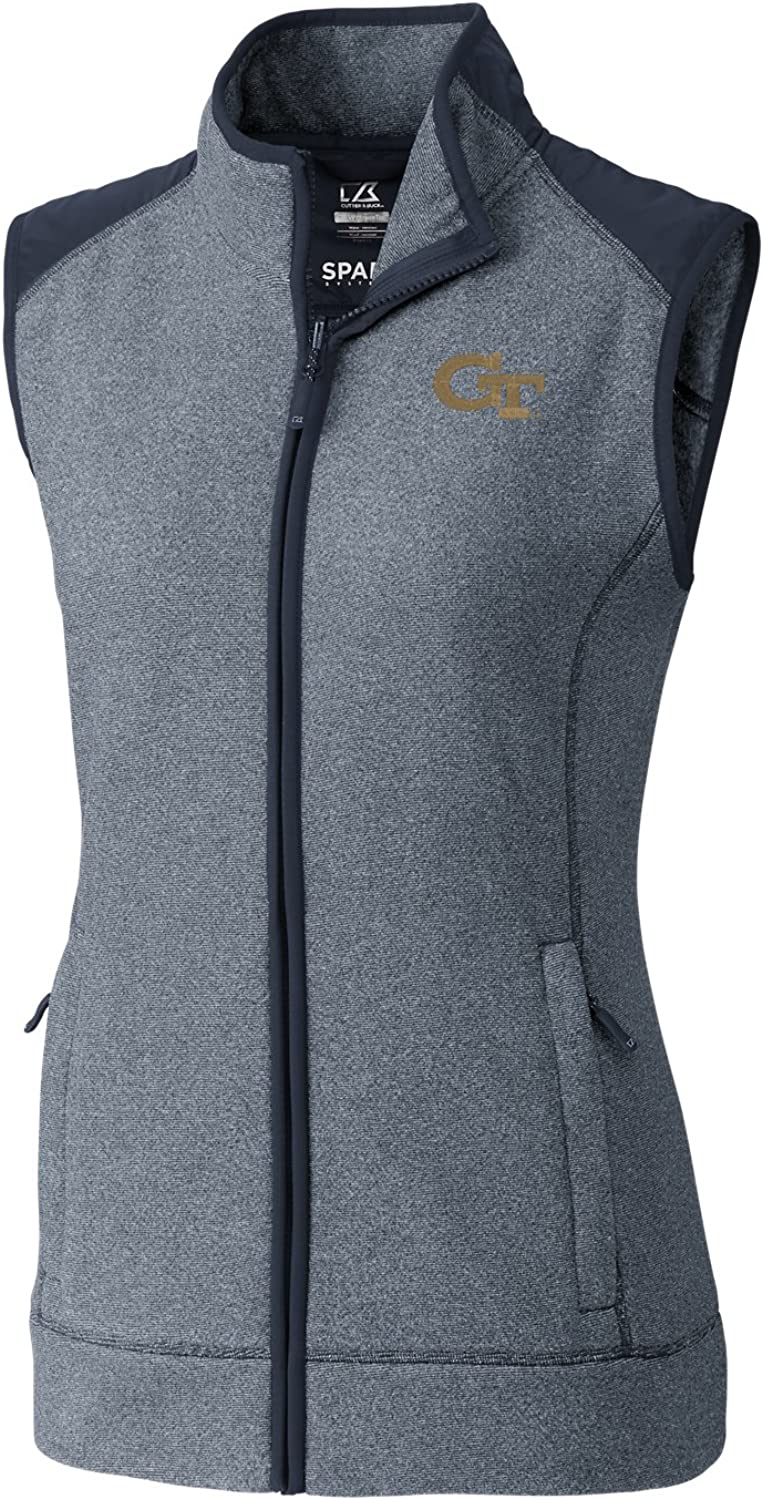 Cutter & Buck Cedar Park Full Zip Weste, Damen, Cedar Park Full Zip Vest, Liberty Navy Heather, 3X-Large