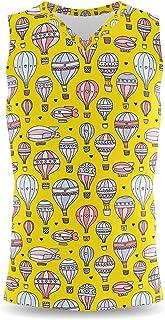 Rainbow Rules Hot Air Balloons & Zeppelin Mens Sleeveless Tank Top