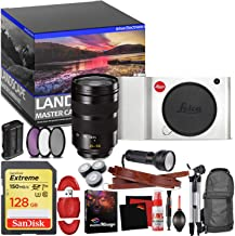 Leica TL Mirrorless Digital Camera (Silver) - Master Landscape Photographer Kit - Memory Card - Accessories with Leica SL 24-90mm f/2.8-4 ASPH. Lens (11176)