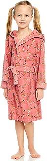 Leveret Kids Robe Girls Hooded Fleece Sleep Robe Bathrobe (2 Toddler-14 Years) Variety of Colors