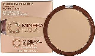 Mineral Fusion Pressed Powder Foundation - 01 Warm for Women 0.32 oz Foundation