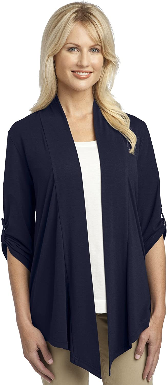 Port Authority Ladies Concept Shrug, Dress Blue Navy, XXXX-Large