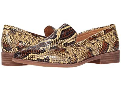 Madewell Frances Loafer in Snake (Burnt Clay Multi) Women