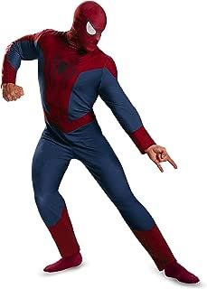 Disguise Men's Marvel The Amazing Spider-Man Movie 2 Spider-Man Classic Costume