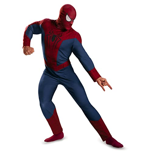 93b0c8e4 Disguise Men's Marvel The Amazing Spider-Man Movie 2 Spider-Man Classic  Costume