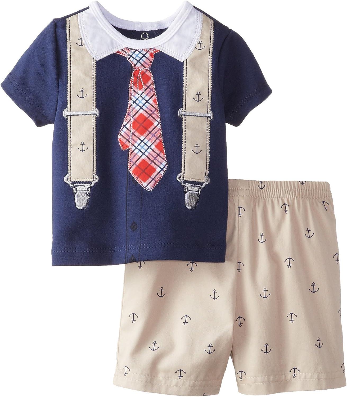 Little Me Baby Sale item Boys Newborn Anchor Short Set 5 ☆ very popular