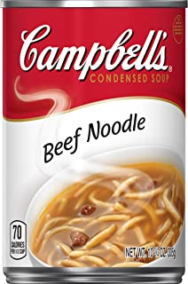 Campbell'sCondensed Beef Noodle Soup, 10.75 Ounce (Pack of 12)
