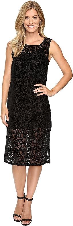 Lucky Brand - Velvet Midi Dress