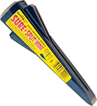 Estwing Sure Split Wedge - 5-Pound Wood Splitting Tool with Forged Steel Construction & 1-7/8
