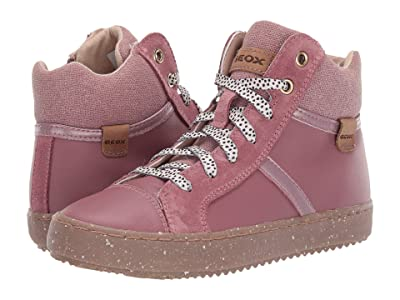 Geox Kids Geox x WWF Jr Kalispera 28 (Little Kid/Big Kid) (Dark Pink) Girls Shoes