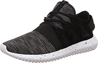 adidas Originals Womens Tubular Viral Lace Up Casual Trainers Sneakers - Black
