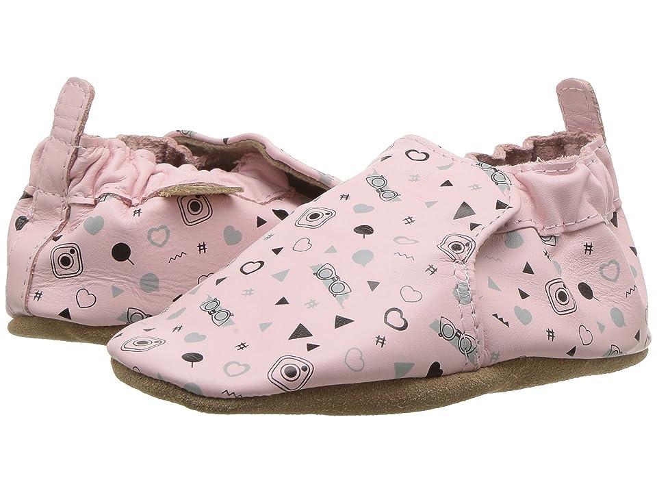 Robeez #GirlyGirl Soft Sole (Infant/Toddler) (Soft Pink) Girl