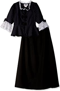 Charades Child's Colonial Girl Costume Dress, X-Large